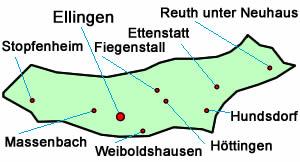 Kreisbrandmeisterbereich (KBM) - Brandkreis 4